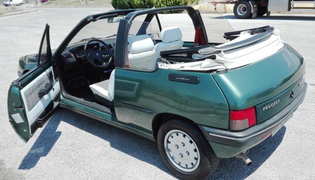 Peugeot 205 usata cat Cabriolet Roland Garros Rif. 10189726