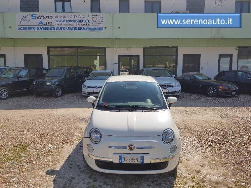 Fiat 500 sport 1.4 100HP PELLE GARANZIA 12MESI