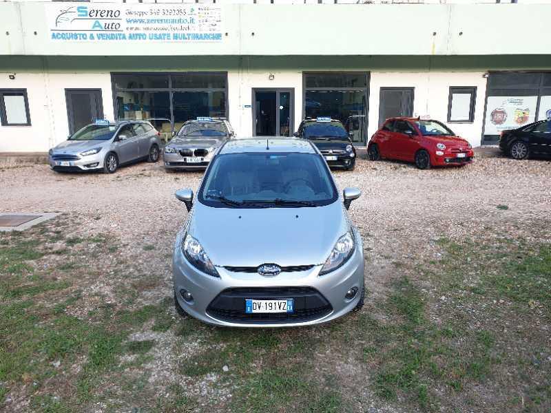 Ford Fiesta usata 1.2 16V 82CV 5p. Titanium Rif. 10750414